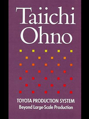 Ouvrage Toyota Production System (Taiichi Ohno)